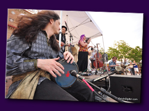 Bryan Bale LIVE with Juana Ghani at the Ogden Arts Festival